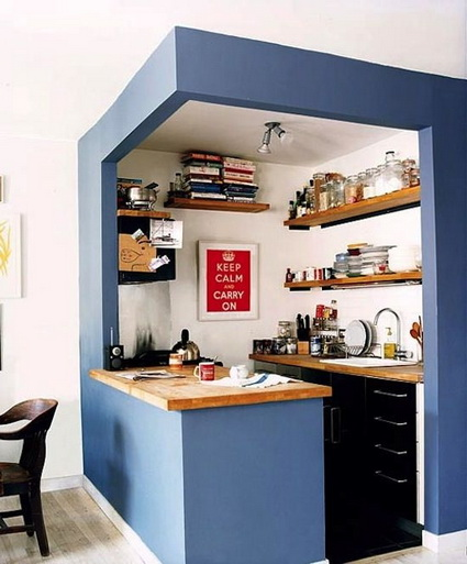Storage in small kitchens 1