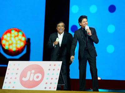 Reliance Jio Lunch Date