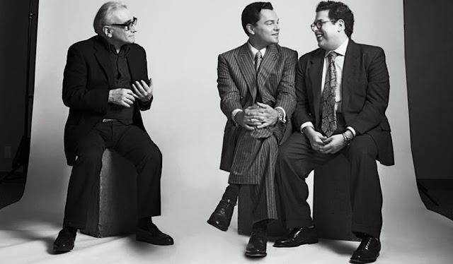 Martin Scorsese, Leonardo DiCaprio şi Jonah Hill