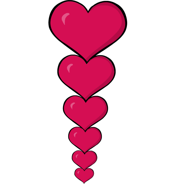 valentines-day-glossy-marble-hearts-clipart-png