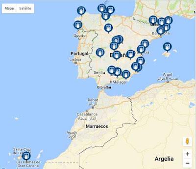 mapa numero 155 de loteria
