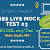 SSC CGL 2017 Tier-2 Free Live Mock Test 03
