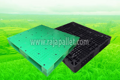 Pallet Plastik Untuk Penyimpanan dan Distribusi Benih Pertanian