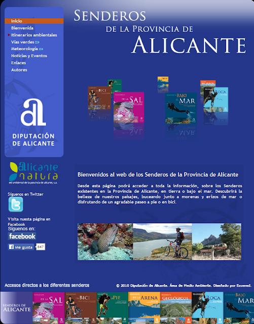 http://www.senderosdealicante.com/principal.html