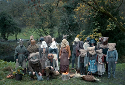 Scene from the BBC's The Living and the Dead (2016) folk horror