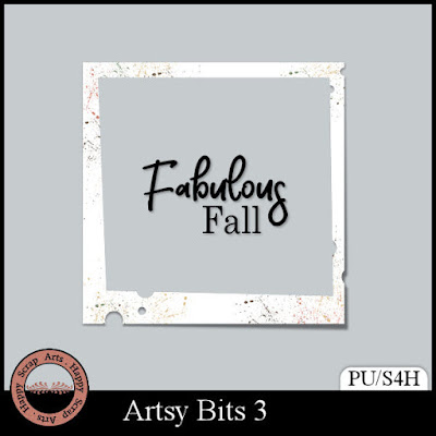 New Artsy Bits 3  with birthday freebie