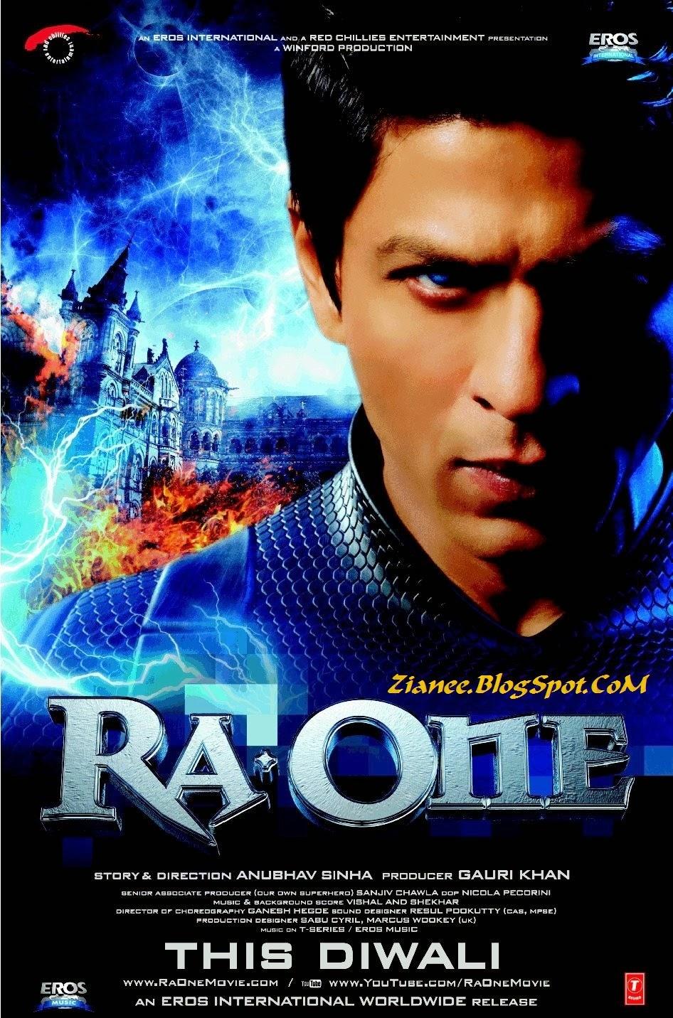 فيلم الاكشن الهندي Ra One 2011 لشاروخان عالم بوليوود