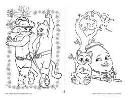 Laminas Para Colorear Coloring Pages El Gato Con Botas