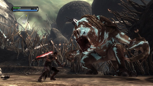 STAR WARS The Force Unleashed Ultimate Sith Edition-screenshot03-power-pcgames.blogspot.co.id