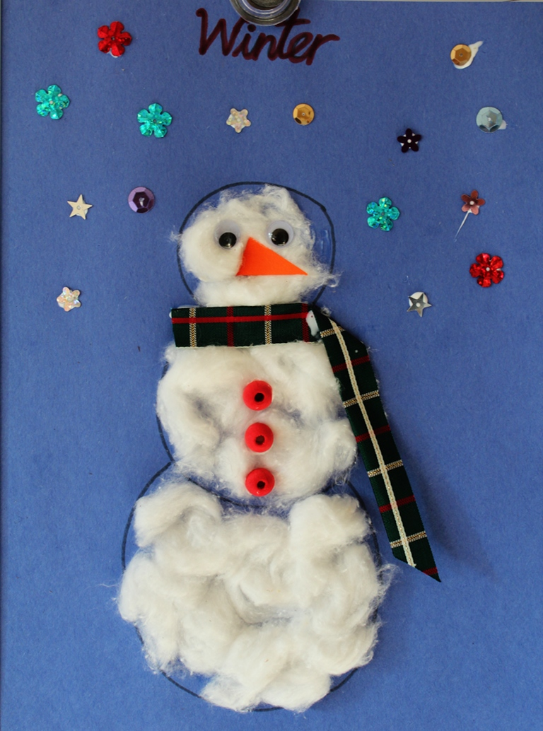 Easy Snowman Snack: Easy Snowman For Preschoolers