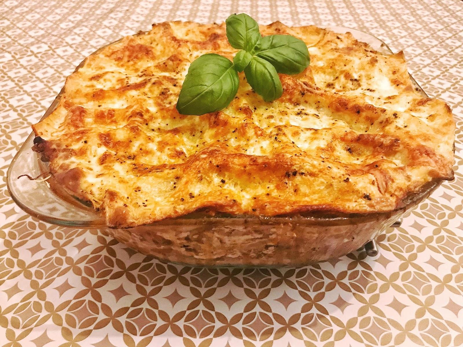 véritables lasagnes bolognaise