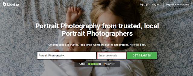 photographer, Bidvine, quote, family portrait, local area, professional, photo shoot, quotes