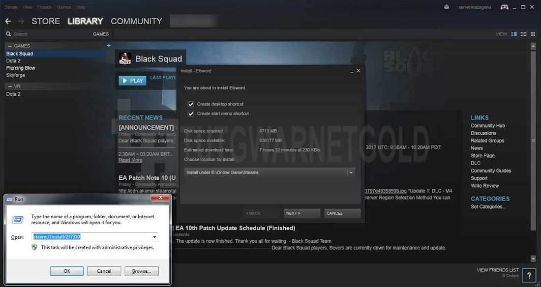 Cara Download dan Install Game Online di Steam tanpa VPN