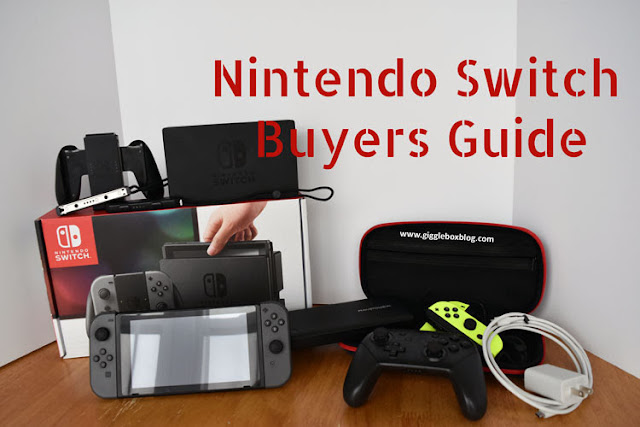 Nintendo Switch, Nintendo Switch overview, Nintendo Switch buyers guide, Nintendo Switch buyers guide for the novice or a mom/grandparent that doesn't know where to start, guide on where to start with purchasing the Nintendo Switch,