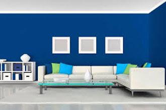 warna cat ruang tamu 2 warnayang terbaru