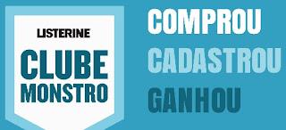 Cadastrar Promoção Listerine 2017 Clube Monstro