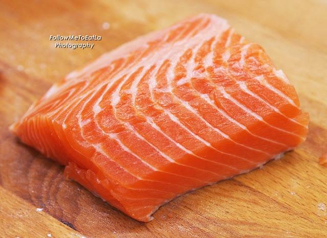 Deep Reddish Orangey Hue Of King Salmon