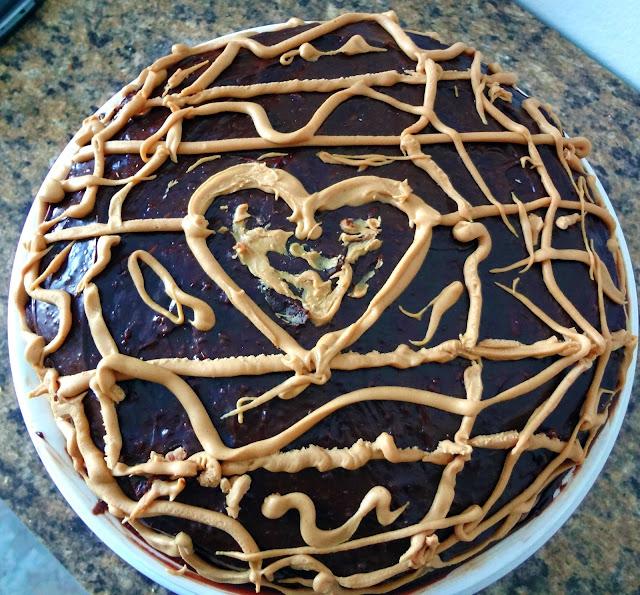 Buckeye Cake