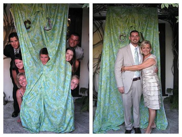 DIY polaroid photobooth   vintage california chic wedding of Oh Lovely Day   Photo by Jennifer Roper