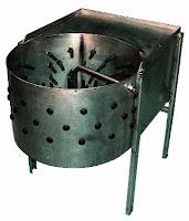 Ξεπουπουλιάστρα-Plucker machine