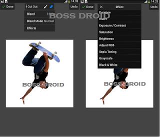 Cara Membuat Foto / Efek Siluet di Android