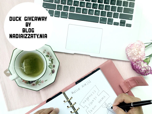 DUCK GIVEAWAY BY BLOG NADIAIZZATY.NIA