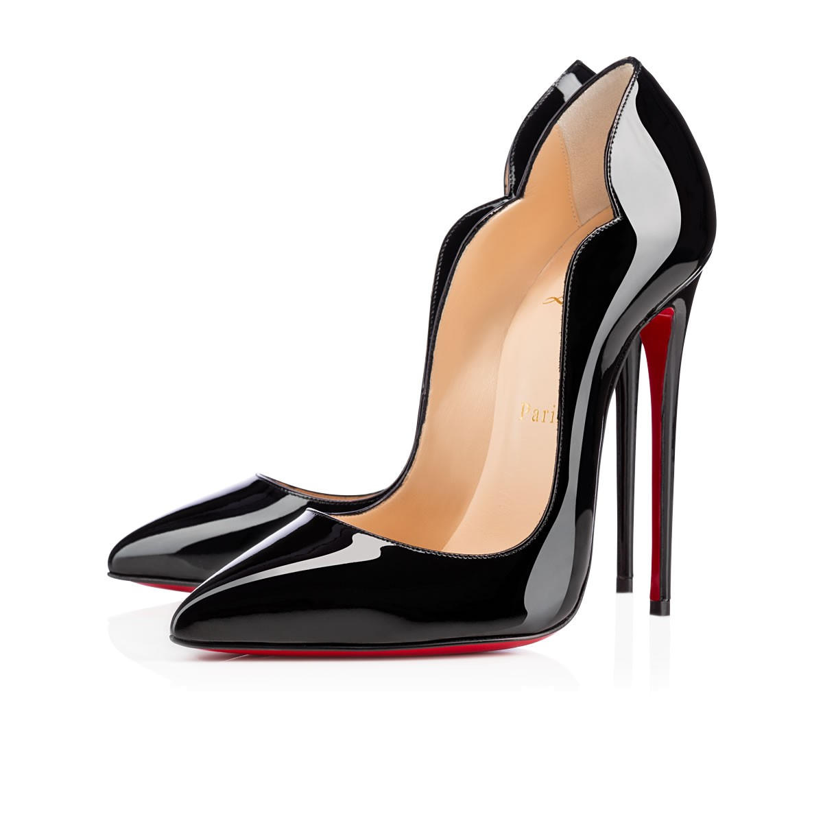 719760d2cbce CHRISTIAN LOUBOUTIN HOT CHICK PATENT LEATHER - Reed Fashion Blog