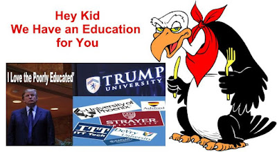 Image result for big education ape  For-Profit Schools Defraud Students