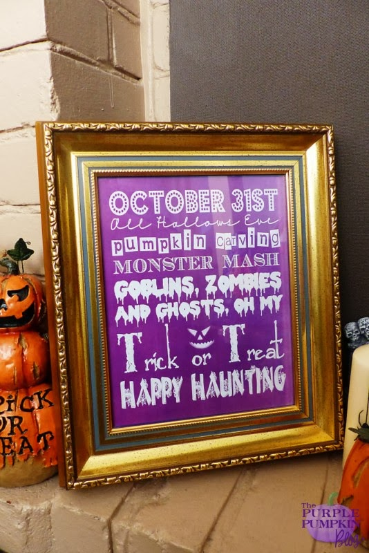 #Halloween Subway Art - Free #Printables! #CraftyOctober