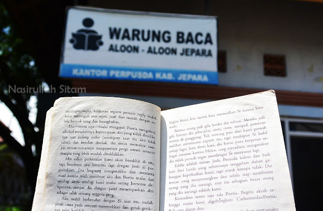 Taman Baca di Alun-alun Jepara