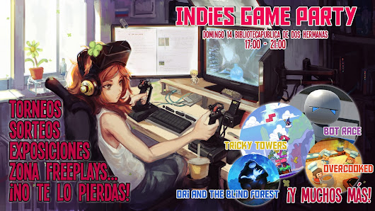 Indie Games Party 14 de Agosto