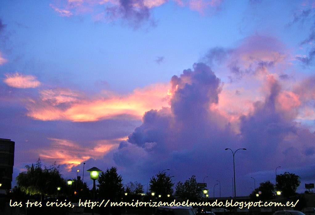 Estado del cielo en Madrid