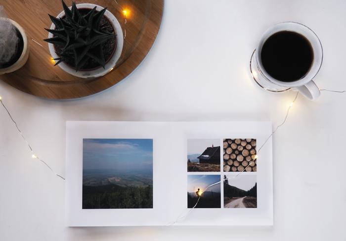 zdjęcia z Instagrama w formie książki