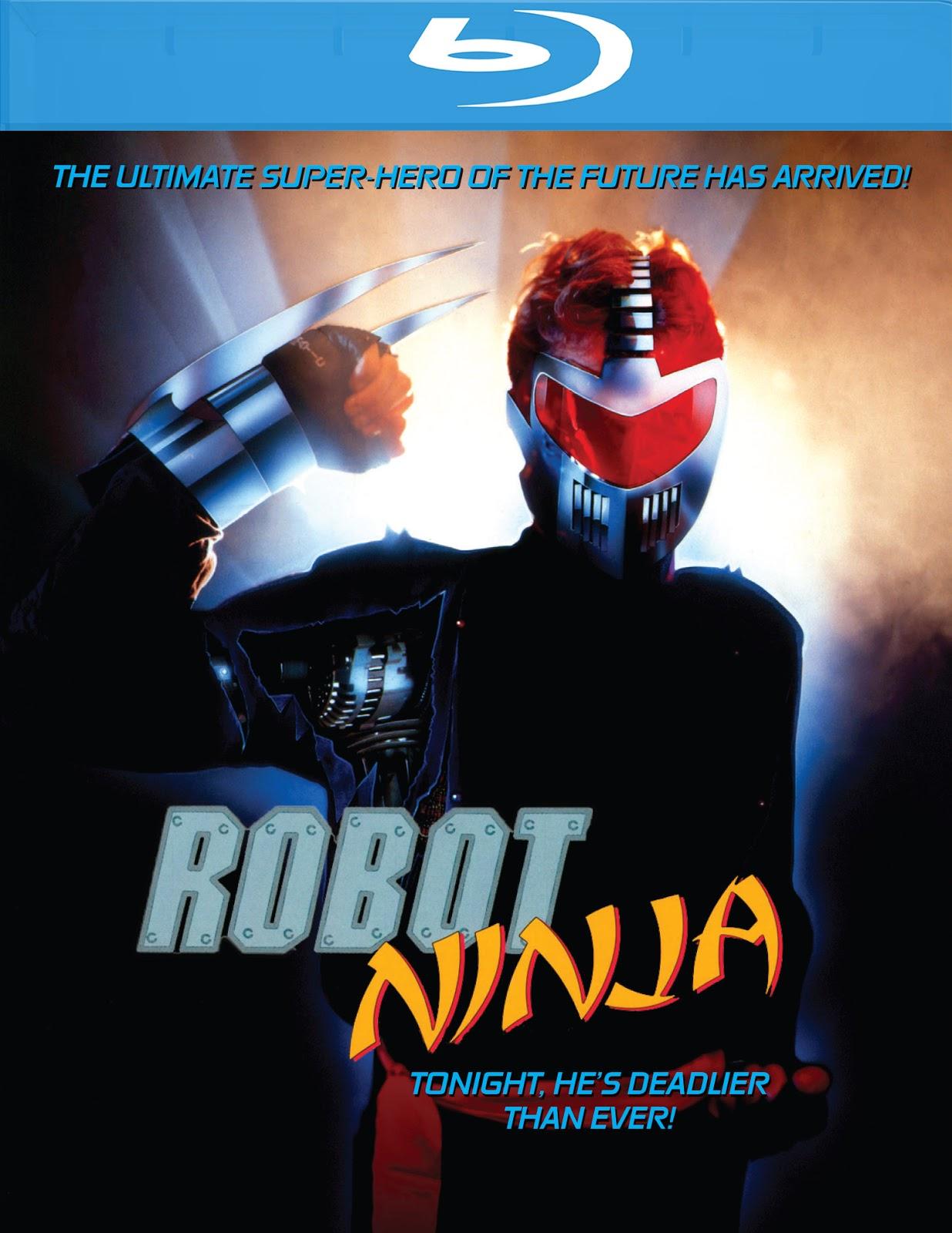 THE B-MOVIE NEWS VAULT: ROBOT NINJA Now Available on