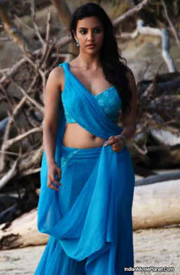 priya anand hot navel show images blue dress