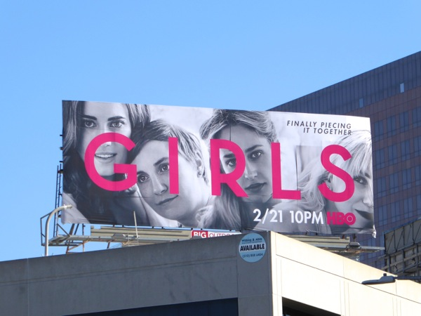 Girls season 5 billboard