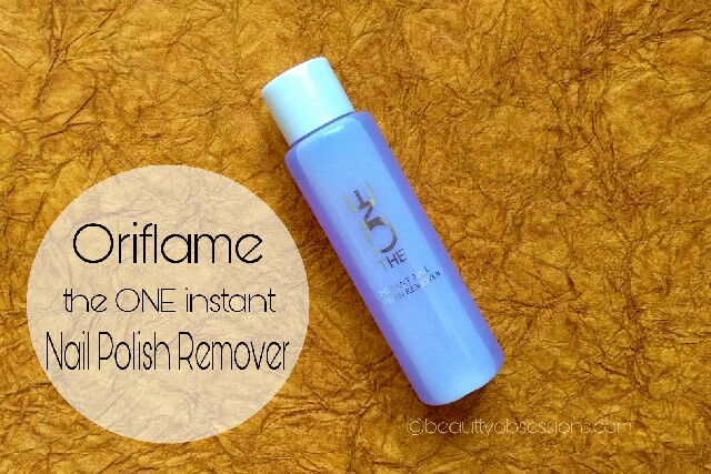 Oriflame The ONE  Instant Nail Polish Remover Review