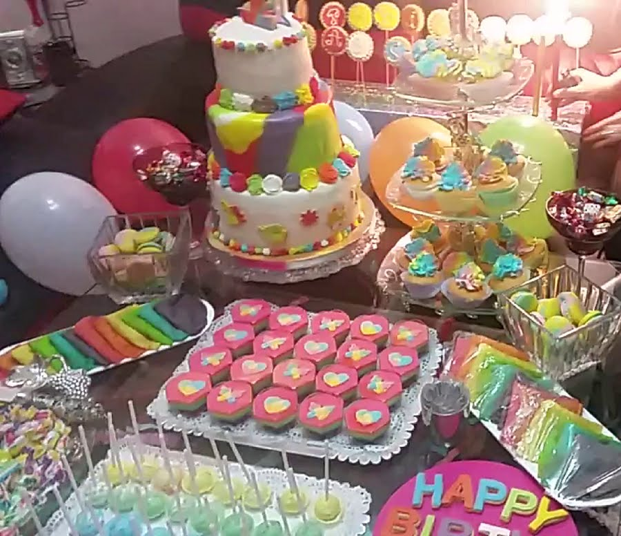 Berühmt Comment faire la décoration de table d'anniversaire 18 ans ? KR26