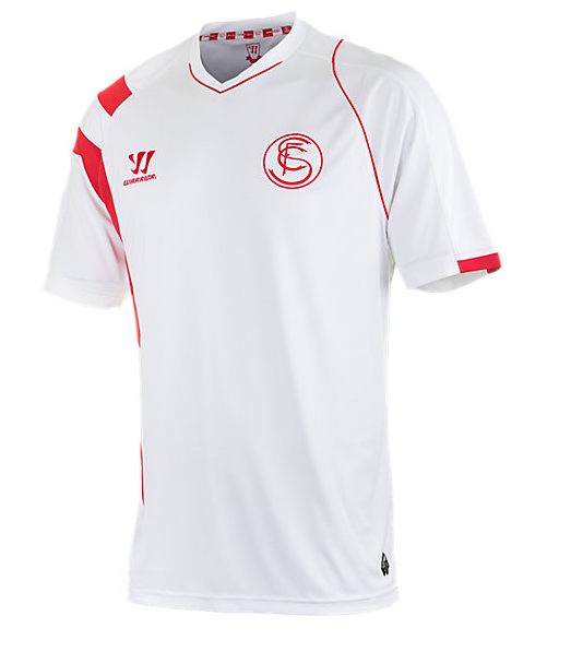 30b85b05f5512 Camisetas Warrior del Sevilla FC 2014-2015