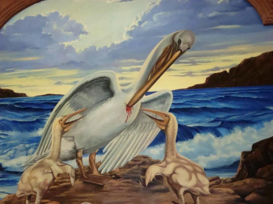 The Peace And The Passion Theological Bestiary Part 4 Pelican