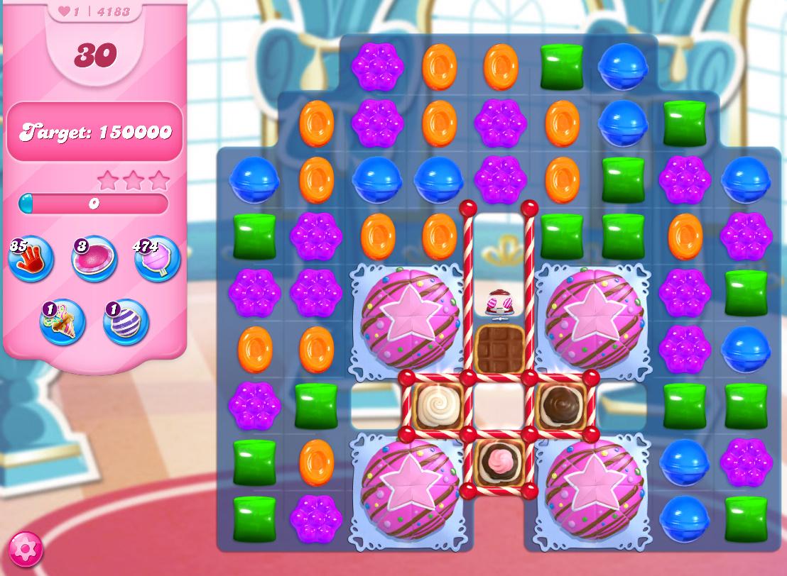 Candy Crush Saga level 4183