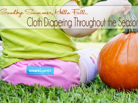 Goodbye Summer, Hello Fall: Cloth Diapering Through the Seasons