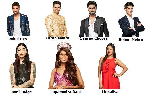 Bigg Boss 10 Celebrity Contestants list