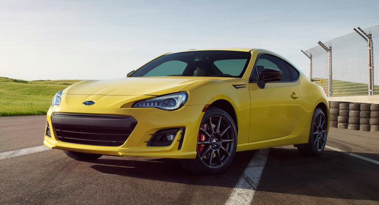 Subaru BRZ Series.Yellow Gets Performance Parts, No Power Hike