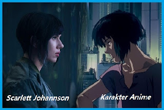 Film Ghost in The Shell Karakter Scarlett Johansson