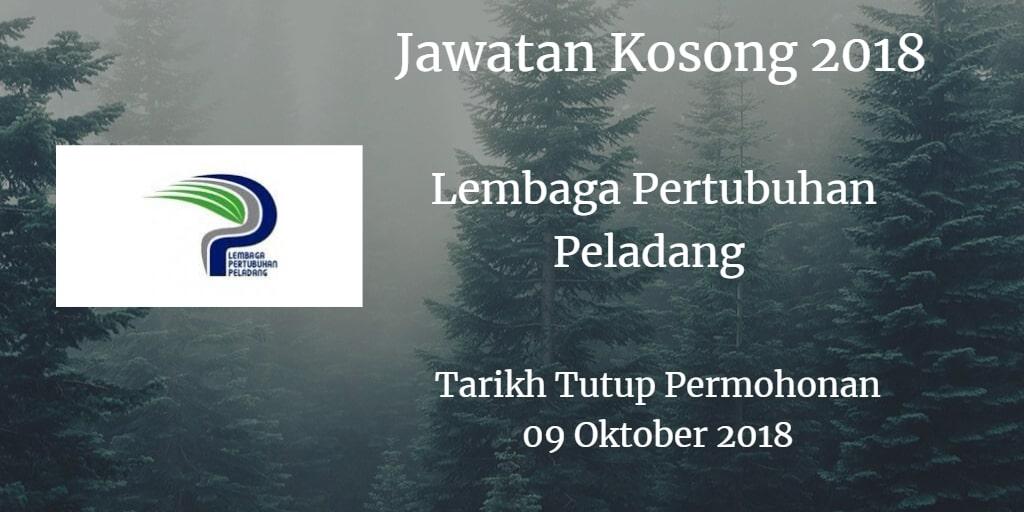 Jawatan Kosong LPP 09 Oktober 2018