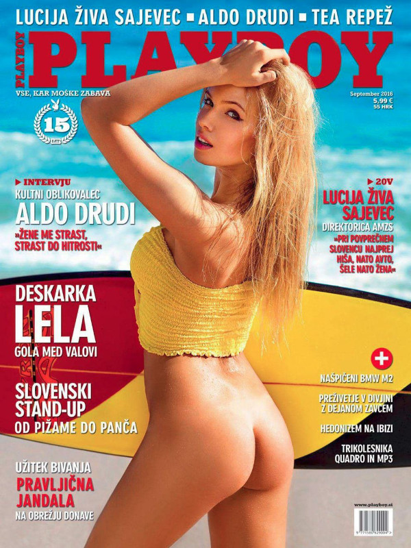 Olga Tretjacenko naked photos - Playboy Slovenia