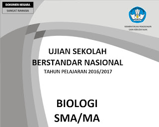 naskah soal usbn biologi tahun 2016/2017 kode 111