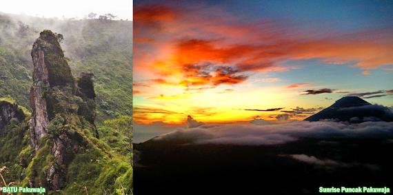 Puncak Tertinggi Gunung Pakuwaja di Dieng