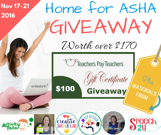 Going to ASHA or staying home? Huge Giveaway!